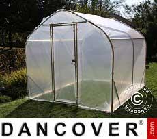 Polytunnel Greenhouse SEMI PRO 2x5x2 m
