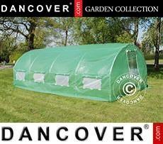 Polytunnel Greenhouse 3x8x2 m, 24 m², Green