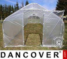 Polytunnel Greenhouse SEMI PRO 3x3.75x2.15 m