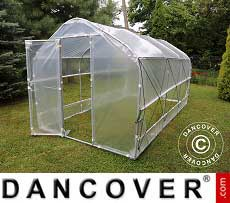 Polytunnel Greenhouse SEMI PRO Plus 4x6.25x2.40 m