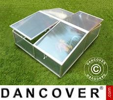 Mini greenhouse Cold Frame 1.19 m², 1.08x1.10x0.40 m, Aluminium