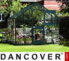 Greenhouse Glass Juliana Junior 8.3 m², 2.77x2.98x2.57 m, Anthracite