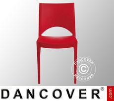 Stuhl, Paris, Rot, 6 Stück