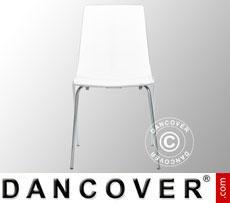 Stuhl, Lollipop, Weiß glänzend, 12 Stück