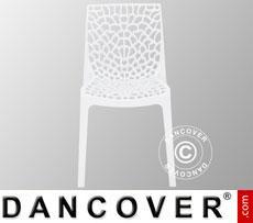Stuhl, Gruvyer, Weiß, 6 Stück