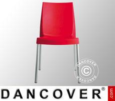 Stuhl, Boulevard, Rot, 6 Stück