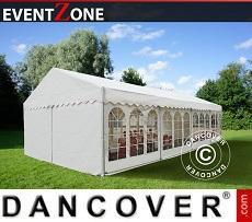 Partyzelte PRO - Partyzelt Professional EventZone 6x12 m PVC, Weiß
