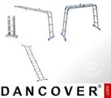 Mehrzweckleiter - 3 in 1, 16 Stufen