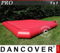 Hüpfkissen 7x7m, Rot, Beständige Mietqualität