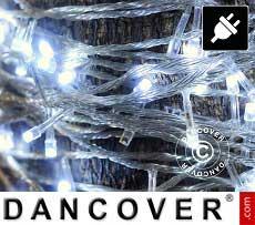 Lichterkette LED, 25m, Mehrfachfunktion, Weiß
