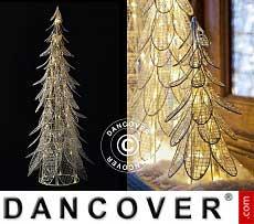 LED-Weihnachtsbaum Siv, 26cm, Weiß