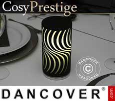 LED-Lampe Zigzag, Prestige-Serie, schwarz