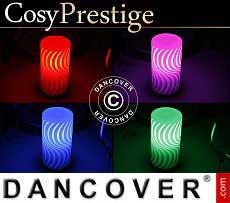 LED-Lampe Zigzag, Prestige-Serie, mehrfarbig