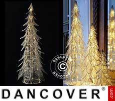 LED-Weihnachtsbaum Siv, 66cm, Weiß