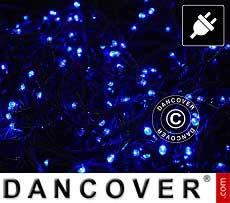 Lichterkette LED, 25m, Mehrfachfunktion, Blau
