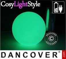 Kugelleuchte LED, Ø40cm, Mehrfachfunktion, mehrfarbig