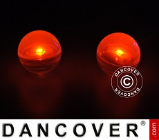 Party Licht, Fairy Berry, LED Orange, 24 stk.