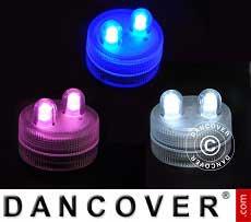 LED Floralyte-Lichter (30 Stück) Durchmesser 3cm, Gemischte Farben