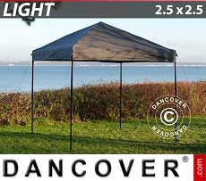 Faltzelt FleXtents Light 2,5x2,5m Grau