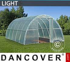 Foliengewächshaus Light 3x10x1,9m, Durchsichtig