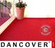 Teppich 2x12m Rot