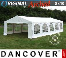 Partyzelt Original 5x10m PVC,