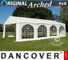Partyzelt Original 4x8m PVC,