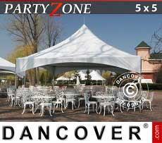 Pagodenzelt PartyZone 5x5 m PVC