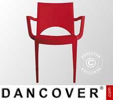 Stuhl mit Armlehnen, Paris, Rod, 6 Stück
