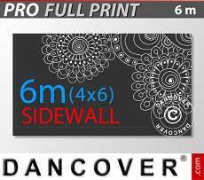 Bedruckte Seitenwand 6m für FleXtents PRO 4x6m