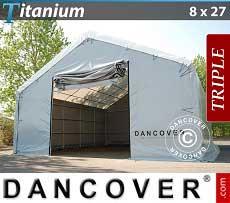 Lagerzelt Titanium 8x27x3x5 m