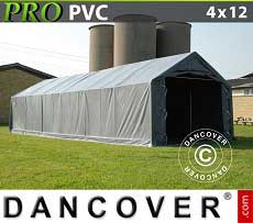 Lagerzelt Garagen PRO 4x12x2x3,1 m, PVC