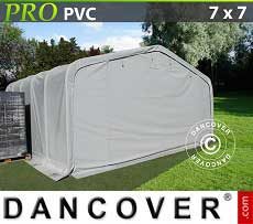 Lagerzelt PRO 7x7x3,8 m PVC