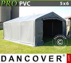 Lagerzelt PRO 5x6x2x2,9 m, PVC
