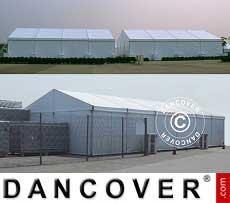 Zelthalle Lagerhalle Aluminium PRO 12x12 m