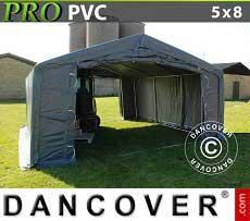 Lagerzelt Garagen PRO 5x8x2x2,9m, PVC
