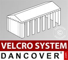 Dachplane mit Klettverschluss für Exclusive CombiTents™ Partyzelt 6x14m, Weiß