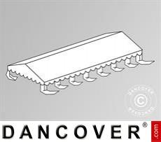 Dachplane für das Partyzelt Exclusive CombiTents™ 6x14m, Weiß