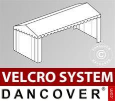 Dachplane mit Klettverschluss für Plus-Partyzelt 5x10m, Weiß
