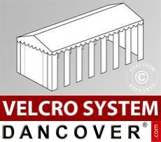 Dachplane mit Klettverschluss für SEMI PRO Plus CombiTents® Partyzelt 6x14m,...