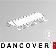 Dachplane für das Partyzelt SEMI PRO Plus CombiTents® 6x12m, Weiß