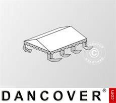 Dachplane für das Partyzelt Original 4x6m PVC, Weiß / Grau