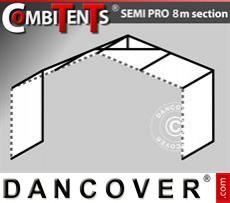 2m Erweiterung für das CombiTents® SEMI PRO (8m Serie)