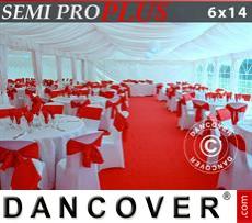 Innenausstattungspaket, Weiß, für 6x14m Festzelt SEMI PRO Plus