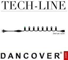 LED-Lichterkette Startset, Tech-Line, 4,5m, Warmweiß