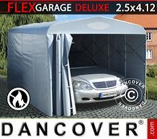 Faltgarage Tunnel (Auto), 2,5x4,12x2,15m, grau