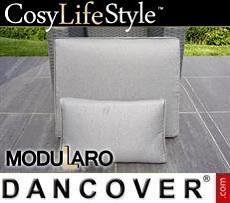 Kissenbezüge für Lehnstuhl für Modularo, grau