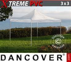 Partyzelte Faltzelt FleXtents Xtreme 3x3m Transparent