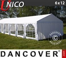 Partyzelt UNICO 6x12m, Weiß