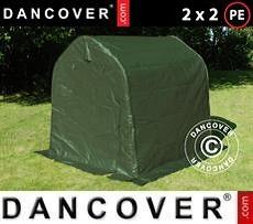 Lagerzelt PRO 2x2x2m PE, Grün